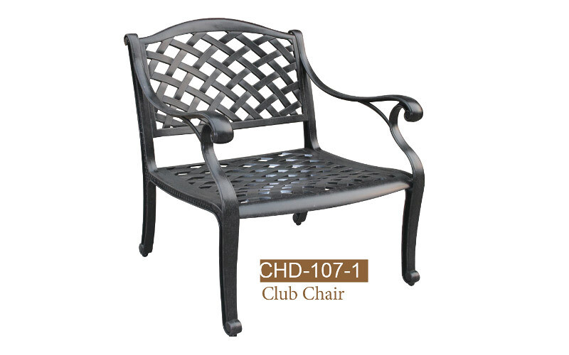 Fully Welded Right Arm Deep Double Seat