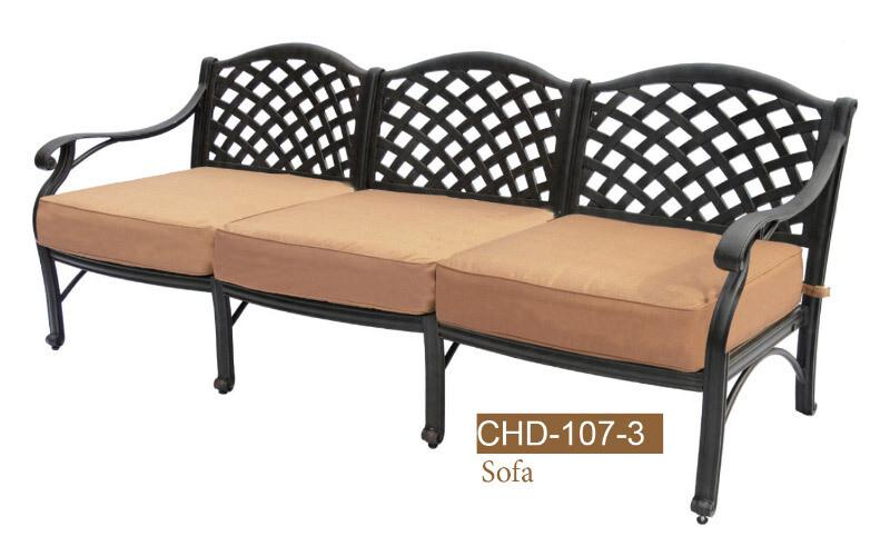 Deep Seating 3 Seat Sofa