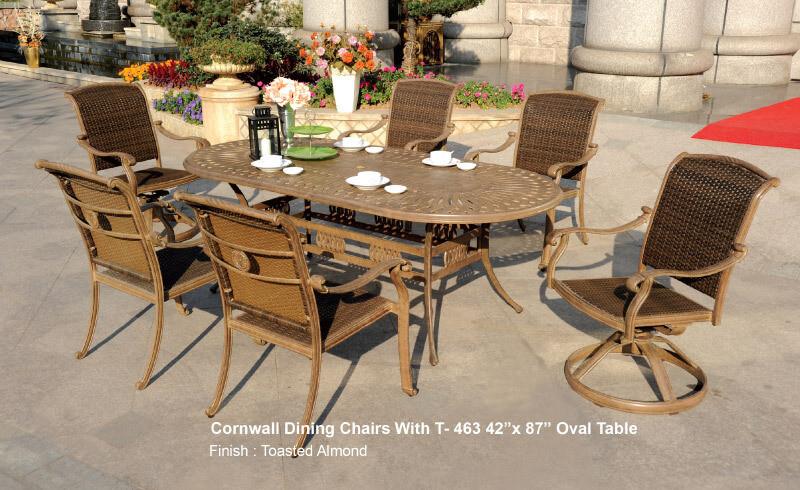 Diamond Oval Dining Table