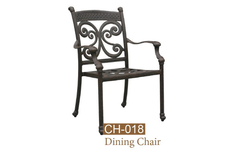 Monarch Collection Fully Welded Dining Chair