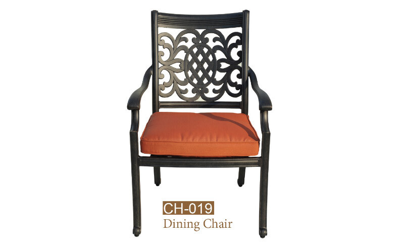 Oxford Collection Fully Welded Dining Chair