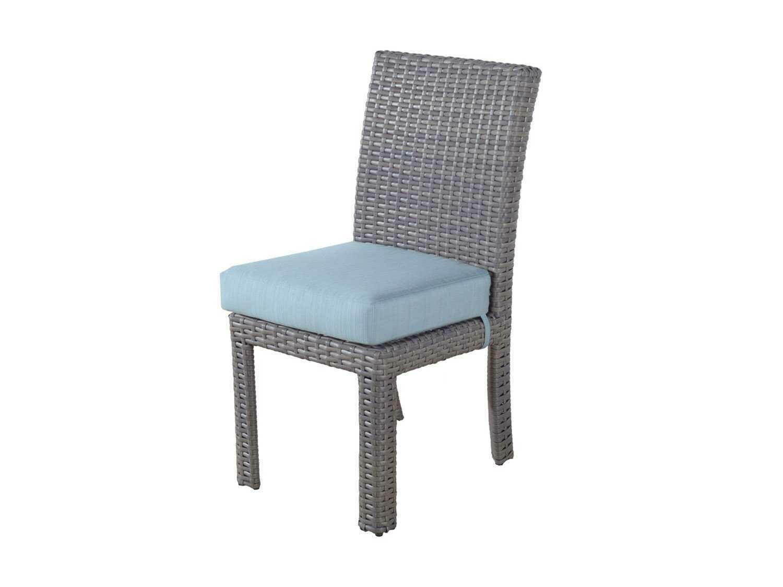 South Sea Rattan St Tropez Wicker Dining Side Chair