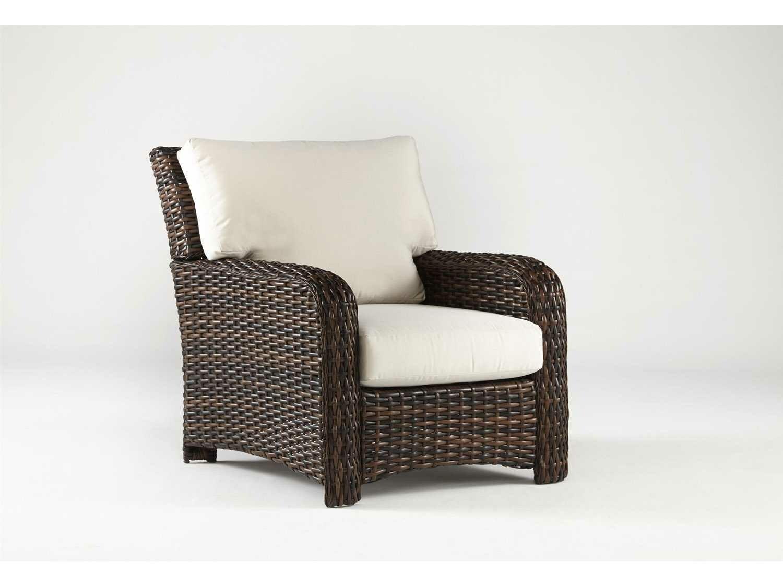 South Sea Rattan St Tropez Wicker Lounge Chair