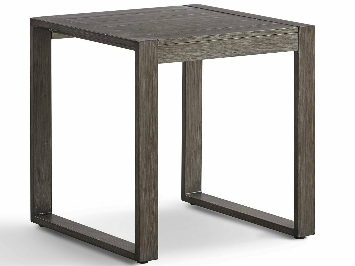 South Sea Rattan Ryan Aluminum 24'' Wide Square End Table