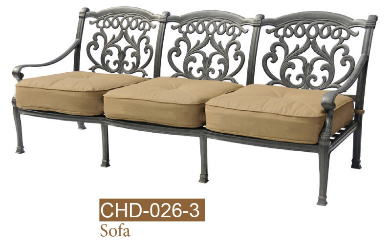 Valencia Collection Fully Welded Deep Sofa