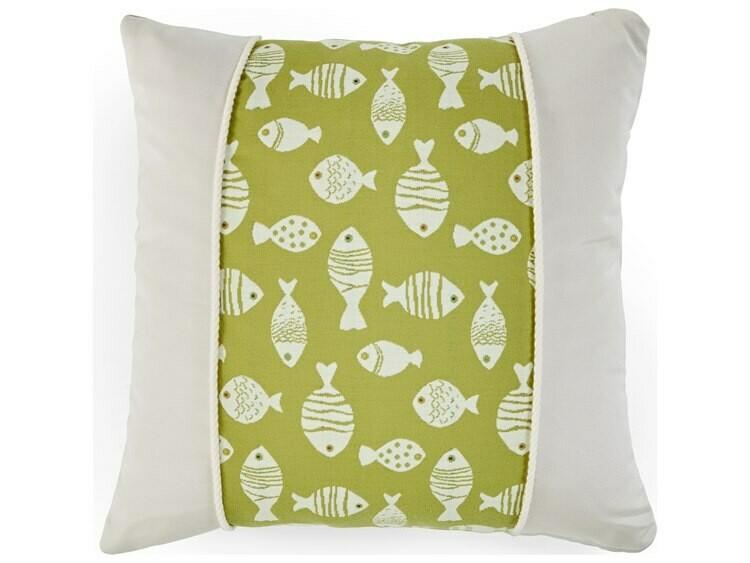 South Sea Rattan 20 x 20 Pillow Talk