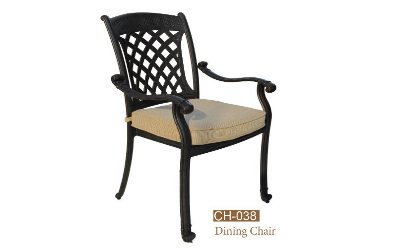 Carlisle Collection Fully Welded Dining Chair