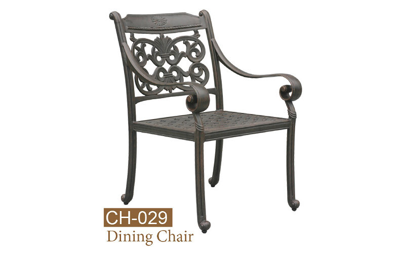 Florence Collection Fully Welded Dining Chair