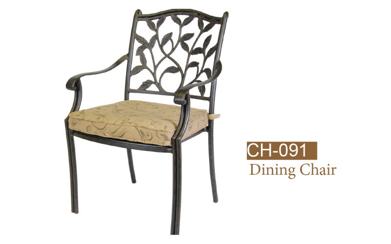Ivyland Fully Welded Dining Chair