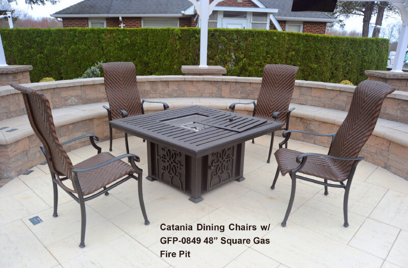 Cantina Collection Welded W. (Burner Included) Gas Fire Pit