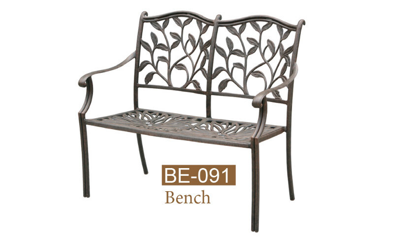 Ivyland Collection Fully Welded Bench