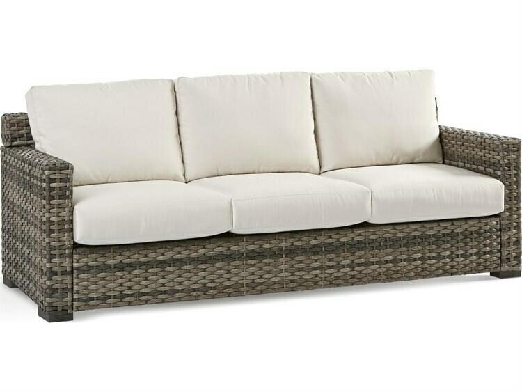 South Sea Rattan New Java Wicker Sandstone Sofa