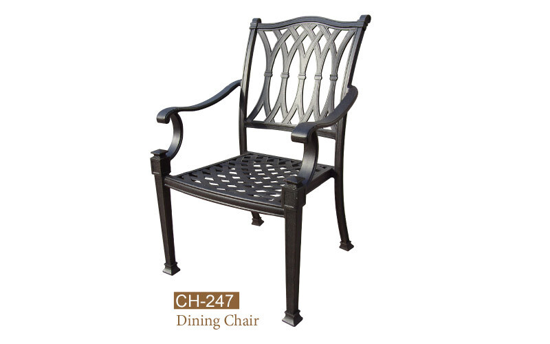 Elizabeth Collection Fully Welded Dining Chair