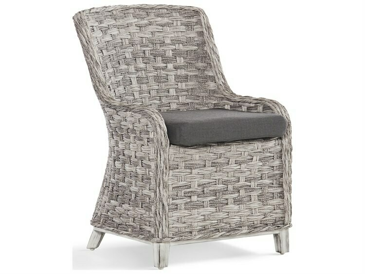 South Sea Rattan Grand Isle Wicker Dining Side Chair
