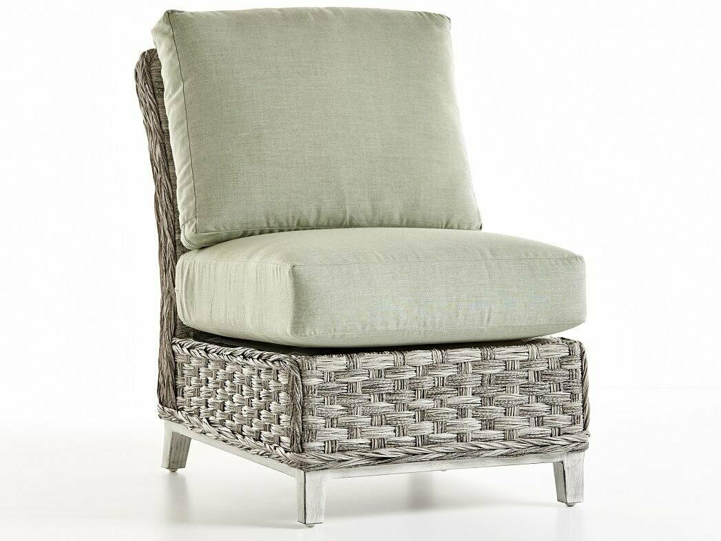 South Sea Rattan Grand Isle Wicker Modular Lounge Chair