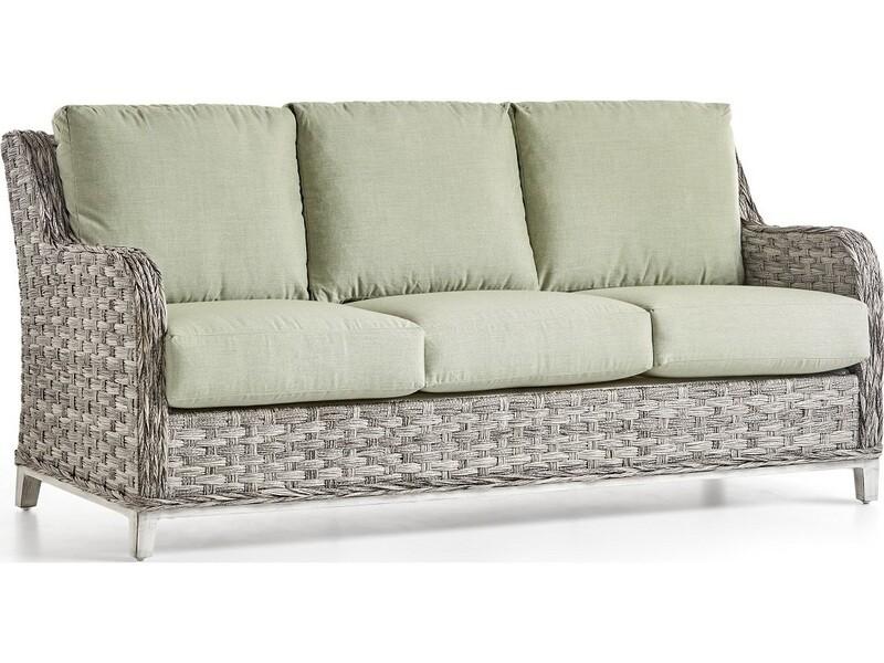 South Sea Rattan Grand Isle Wicker Sofa