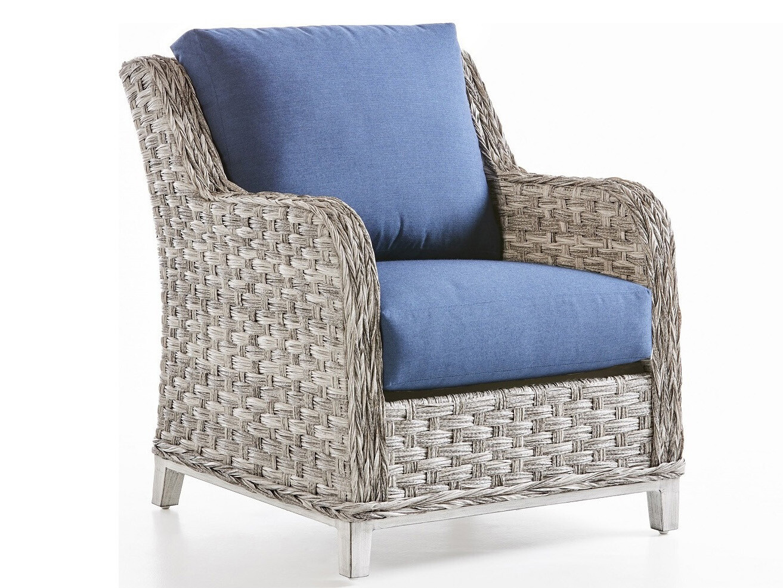South Sea Rattan Grand Isle Wicker Lounge Chair