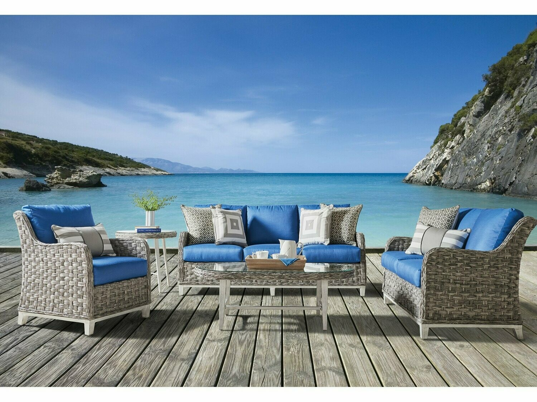 South Sea Rattan Grand Isle Wicker Lounge Set