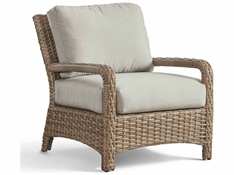 South Sea Rattan Caswell Wicker Mushroom Lounge Chair