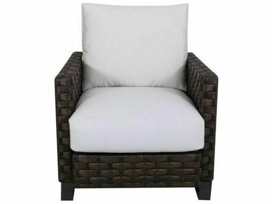 South Sea Rattan Cambridge Aluminum Wicker Lounge Chair