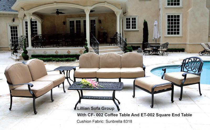 Lilian Collection 6pc Sofa Set