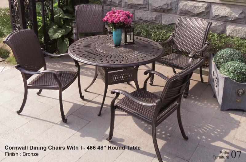Cornwall Collection 5pc Dining Set