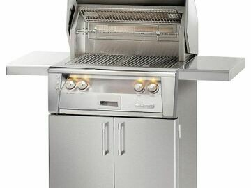 Alfresco ALXE 30-Inch Natural Gas Grill With Rotisserie