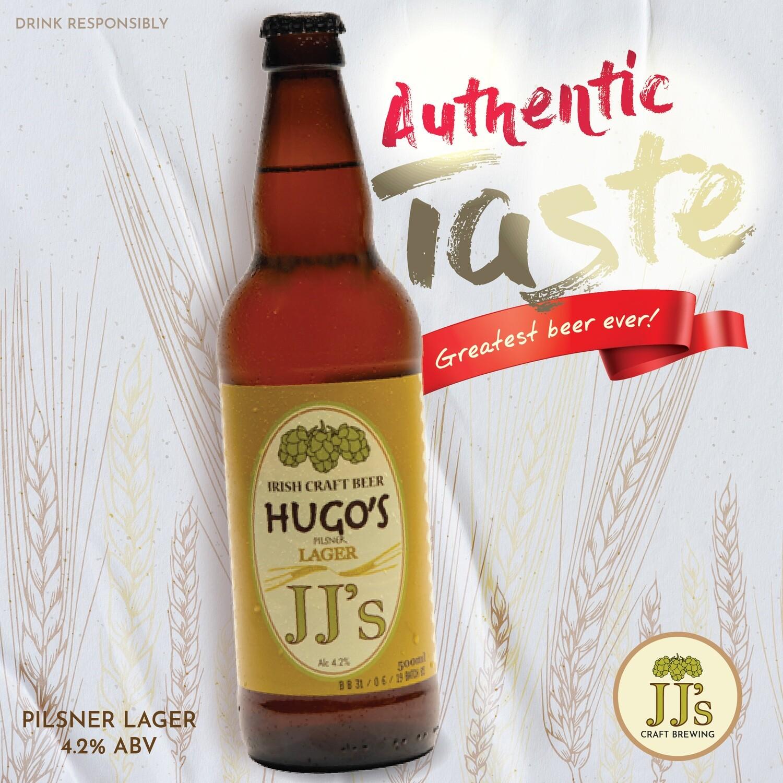 Hugo's Lager (12 pack)