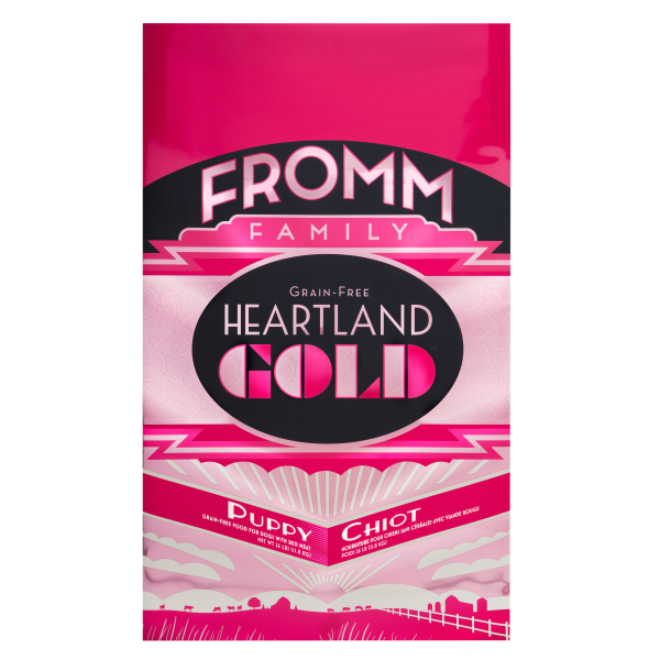 Fromm Heartland Gold Grain Free Puppy Dry Dog Food, 26-lb