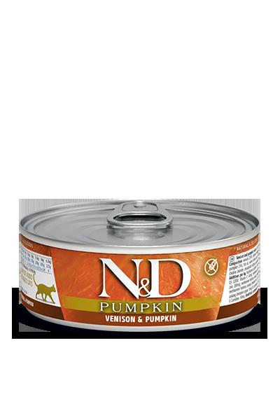 N&D Cat Pumpkin/Venison 80g