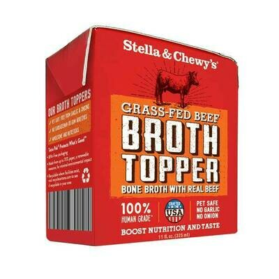 Stella & Chewy's Broth Topper Grass-Fed Beef for Dogs, 11-oz