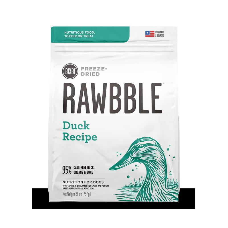 RAWBBLE® FREEZE DRIED DOG FOOD - DUCK RECIPE 737G