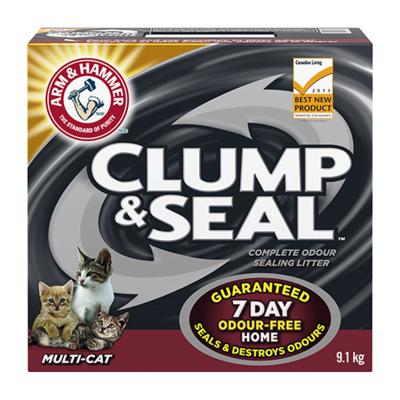 ARM & HAMMER™ CLUMP & SEAL™ MULTI-CAT 2 X 9.1 KG