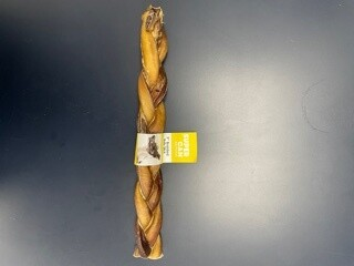 Super Can 9'' Braided Bully Stick 1pc