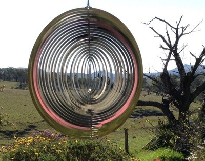 Aussie Spinners - Premium Collection - Circle 40cm - 316 Stainless Steel & Made in Australia