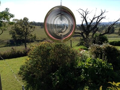 Aussie Spinners - Designer Collection - Circle 10cm - 304 Stainless Steel & Made in Australia