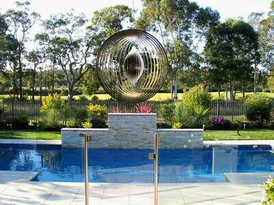 Aussie Spinners - Premium Collection - Circle 30cm - 316 Stainless Steel & Made in Australia