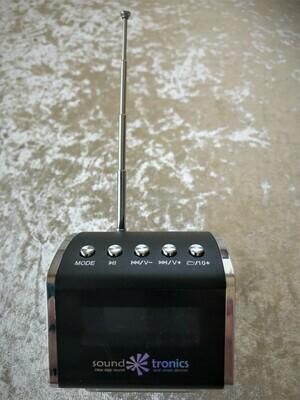 Portable MiNi - Black HiFi SPEAKER - Radio, Bluetooth and play your USB - FREE Postage