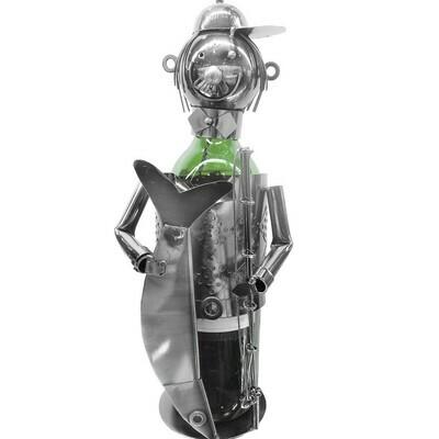 Nuts & Bolts - Fisherman Wine Bottle Holder