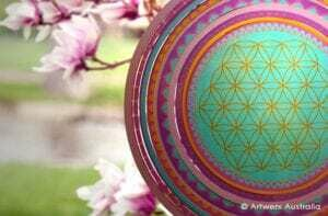 Aussie Spinners - SPECIAL -  FLOWER OF LIFE - 30cm