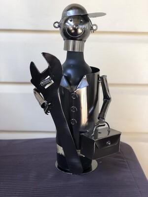 Nuts & Bolts - Handyman Wine Bottle Holder