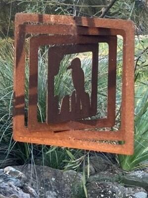 Aussie Spinner - Weathering Steel Collection - Kookaburra - 30cm (BACK IN STOCK Wed 21/10/20)