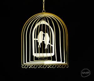 Aussie Spinners - Designer Collection - Lovebirds 20cm - 304 Stainless Steel & Made in Australia