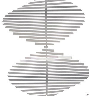 Aussie Spinners - Designer Collection -'Twisty' 10cm - 304 Stainless Steel &  Made in Australia