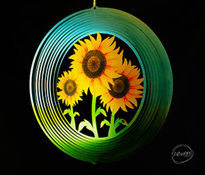 Aussie Spinners - Classic Collection - Sunflower 26cm