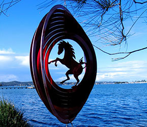 Aussie Spinners - Classic Collection - Red Horse 30cm
