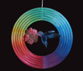 Aussie Spinners  - Classic Collection - Multi Hummingbird - 26cm