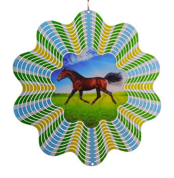 Aussie Spinners - Classic Collection -Hologram Horse 30cm