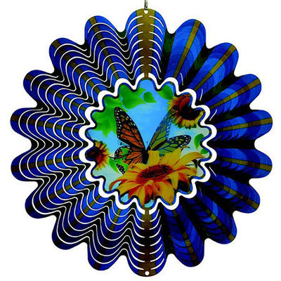 Aussie Spinners - Classic Collection - Hologram  Butterfly - 30cm