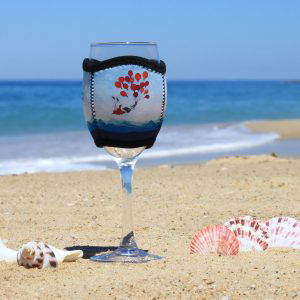 Z Gifts - Wine Glass Cooler - Balloons